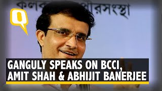 BCCI President-Elect Sourav Ganguly Addresses Media