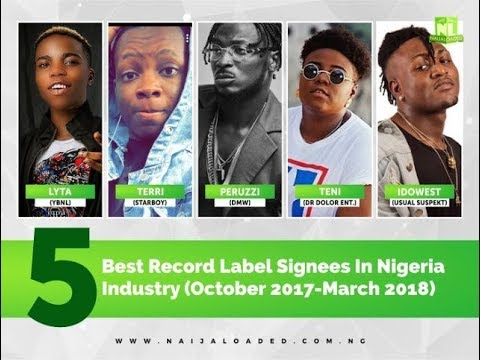 5 Best Recent Record Label Signing Made In The Nigeria Music Industry