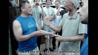 Power of Wing Chun Knives' first movement - Chu Shong Tin Wing Chun