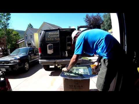 Installing Armor Coat 14 Mill Security Film Vehicle Glass Windows Auto Theft Prevention Glass