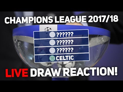 Champions League Group Stage Draw LIVE Reaction!