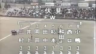 伏見工が、栄冠を勝ち取る。平尾誠二さん3年生。