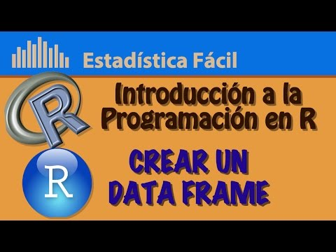 Crear un Data Frame | Introducción a la Programación en R