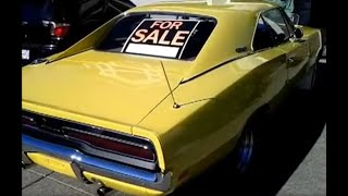 """Dad's """"just purchased"""" 1969 Dodge Charger"""