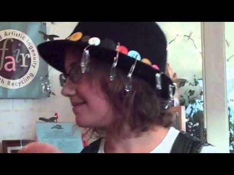 Zoe at Rare Hare Teen Art Camp 2011