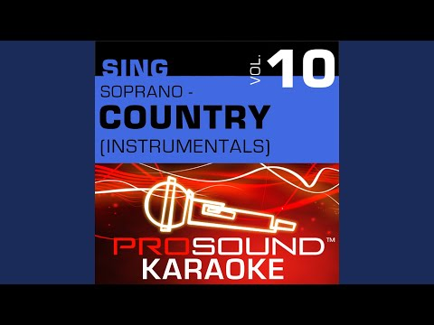 There Is No Arizona (Karaoke Instrumental Track) (In the Style of Jamie O'Neal)