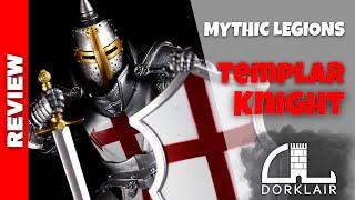 Mythic Legions Templar Knight Halberd Long Axe Covenant Of Shadows Accessory
