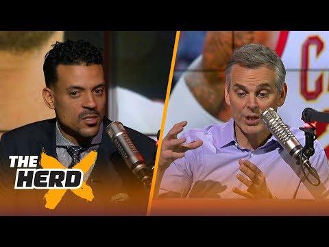 Matt Barnes and Colin Cowherd talk Isaiah Thomas, LeBron