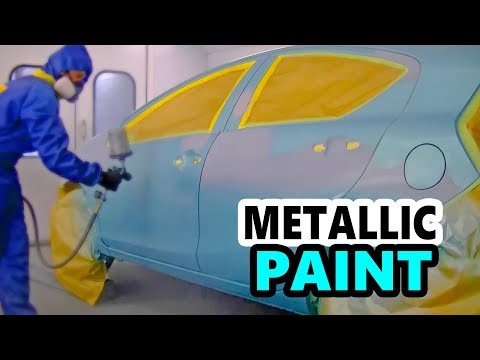 Blue Metallic Paint Job - Toyota Prius