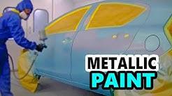 Blending Blue Metallic Paint - Tekna Prolite