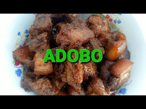 ADOBO   My own version Of Adobo  Simpleng Adobo   Buhay Probinsya