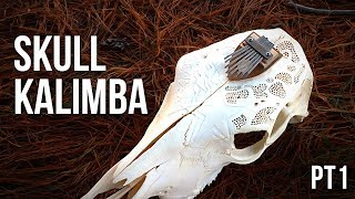 Skull Kalimba (Made with a REAL skull!!)