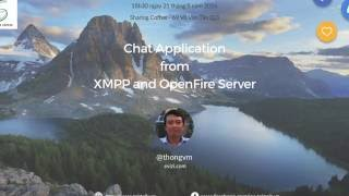 iOS Tek Talk #21: Chat Application from XMPP and OpenFire Server
