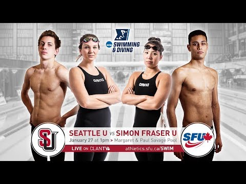 SFU Swimming & Diving vs. Seattle University - January 27, 2018