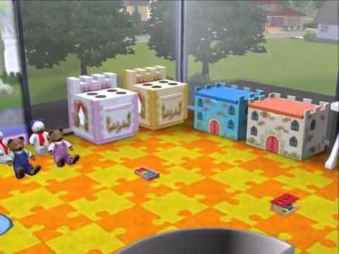 Sims 3 como hacer una guarder a tutorial youtube for Como hacer una terraza techada