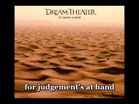 Dream Theater - To tame a land (Cover Iron Maiden) - with lyrics