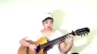 Chuyện Tình Người Trinh Nữ Tên Thi - Guitar Bé Mẫn( Viginia Nguyen)