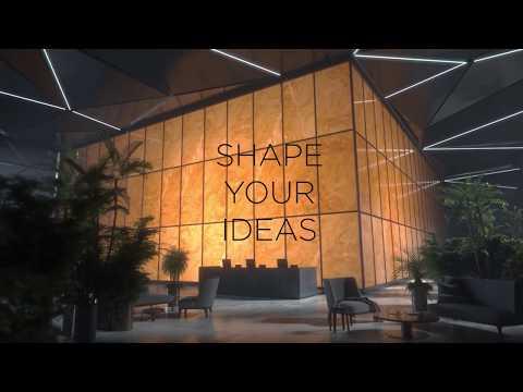 La luz a través de la belleza de los grandes formatos cerámicos