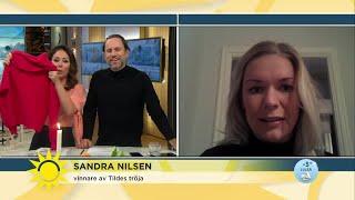 Tildes tröja engagerade hela Sverige - Nyhetsmorgon (TV4)