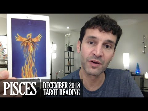 PISCES December 2018 - Extended Monthly Intuitive Tarot Reading by Nicholas Ashbaugh