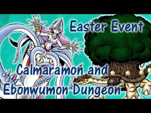 Easter event calmaramon and ebonwumon dungeon digimon masters easter event calmaramon and ebonwumon dungeon digimon masters online negle Images