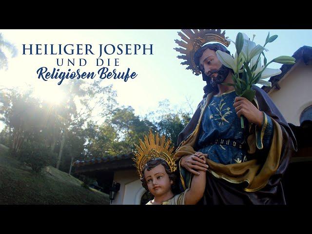 Heiliger Joseph und die Religiosen Berufe
