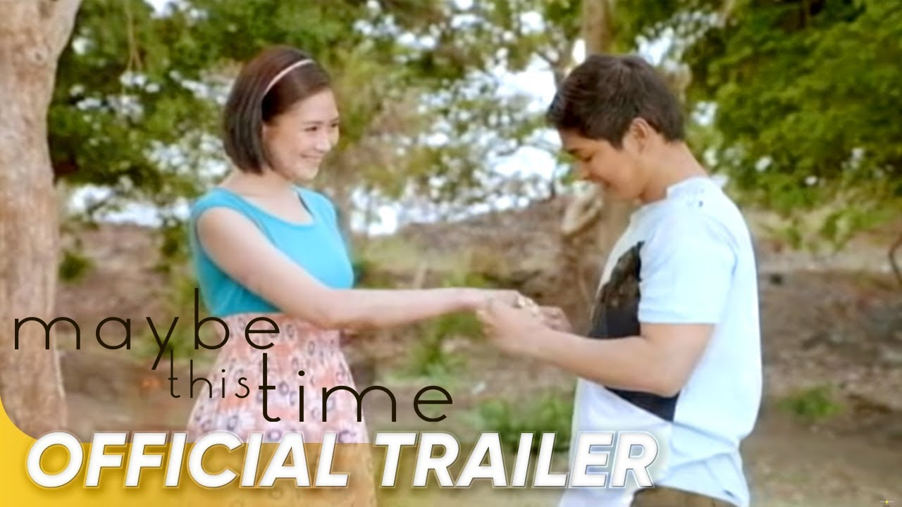 Maybe This Time Official Trailer | Coco Martin and Sarah Geronimo | 'Maybe This Time'