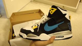 Nike Air Flight Condor High Black / Orion Blue / White / Metallic Silver