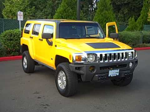 2006 Hummer H3 **Yellow, Bad Boy** - YouTube
