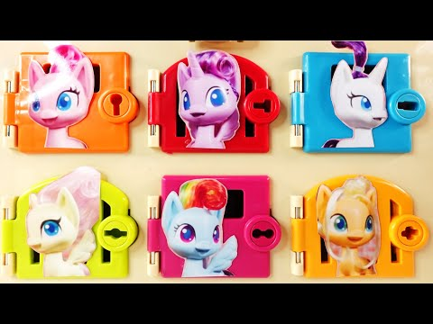MLP Pony Life Rarity Twilight Sparkle Pinkie Pie Trapped Door Surprises
