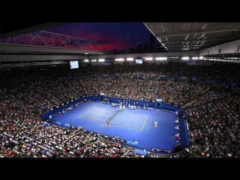 Australian Open Day 2 Rod Laver Arena