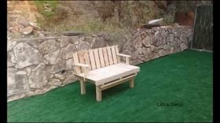 איך להכין ספה ממשטחי עץ בקלי קלות!