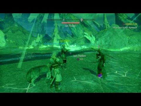 The Elder Scrolls Online: Greymoor Chapter - Fighting Al-Saran |
