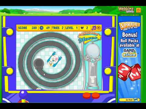 Playing Games On Webkinz Pt. 1