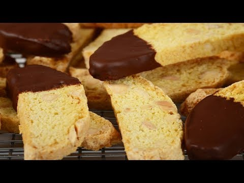 Almond Biscotti Recipe Demonstration - Joyofbaking.com