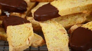 Almond Biscotti Recipe Demonstration - Joyofbaking.com
