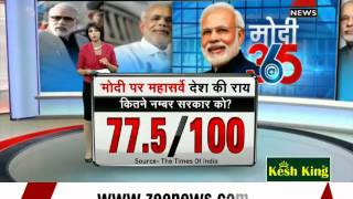 Watch: Zee Media mega survey on Modi govt
