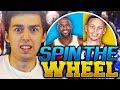 SPIN THE WHEEL OF NBA PLAYERS! NBA 2K18 SQUAD BUILDER