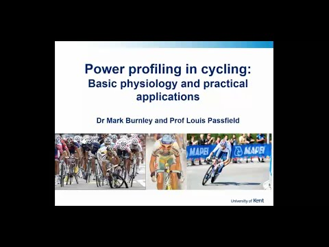 Power profiling in cycling