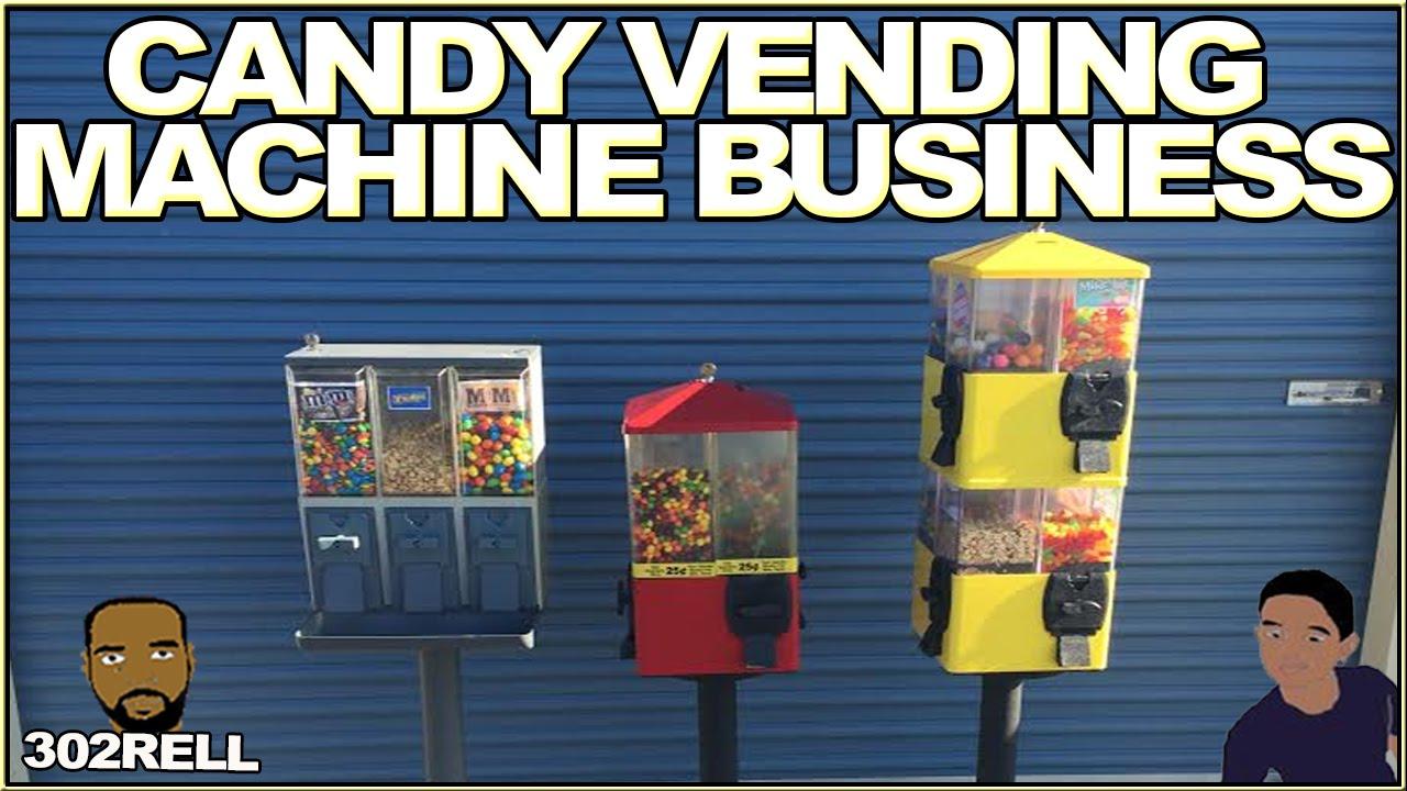 Starting a Bulk Candy Vending Machine Business... Maybe ...