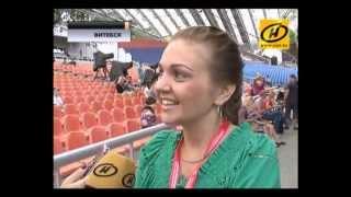 Марина Девятова в сюжете телеканала ОНТ