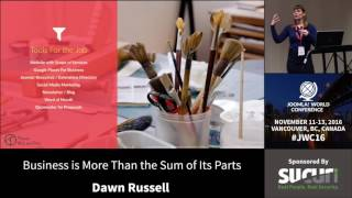 JWC 2016 - Business Is More Than The Sum Of Its Parts - Dawn Russell thumbnail