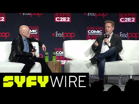 Brian Michael Bendis & Mark Millar Full Panel: Time At Marvel Together & More  C2E2  SYFY WIRE