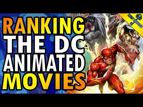 The Best DC Animated Universe Movies!