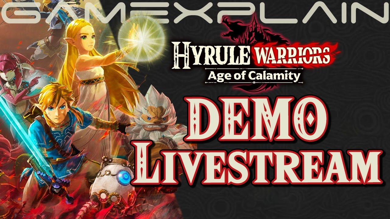 Let S Play The Hyrule Warriors Age Of Calamity Demo Youtube