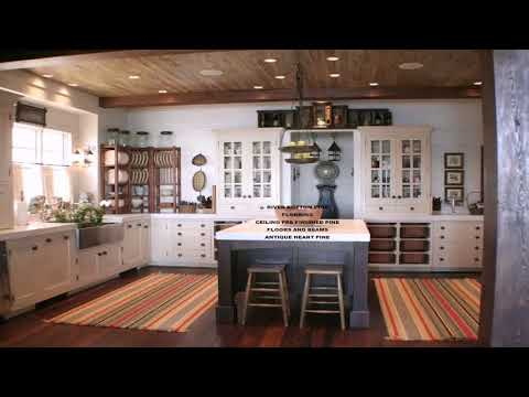 Kitchen With Wood Beam Ceiling