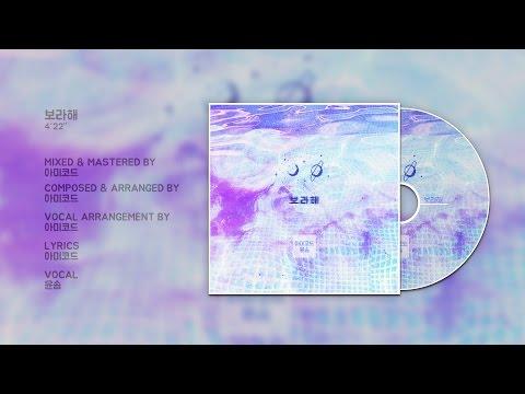 방탄소년단 팬송 보라해 (I Purple U) (Vocal. 윤솜) [CC]