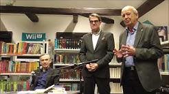 WortKlang 2017 mit Lutz Seiler in der Stadt- und Kreisbibliothek Greiz