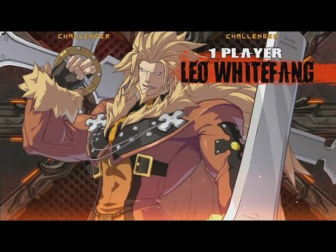 Leo Whitefang Basic Combos(1) - GUILTY GEAR Xrd - YouTube