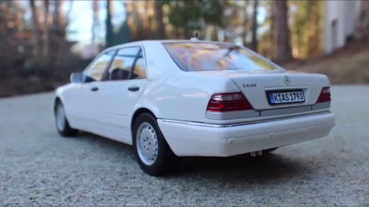 1997 mercedes benz s600 from norev scale 1 18
